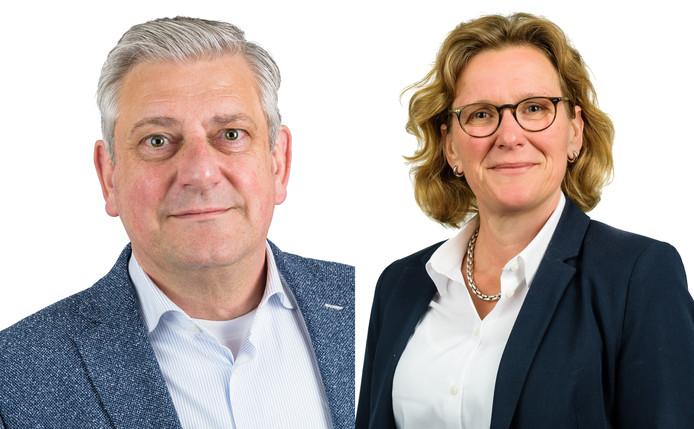 Ad Dekkers en Saskia Nieuwesteeg