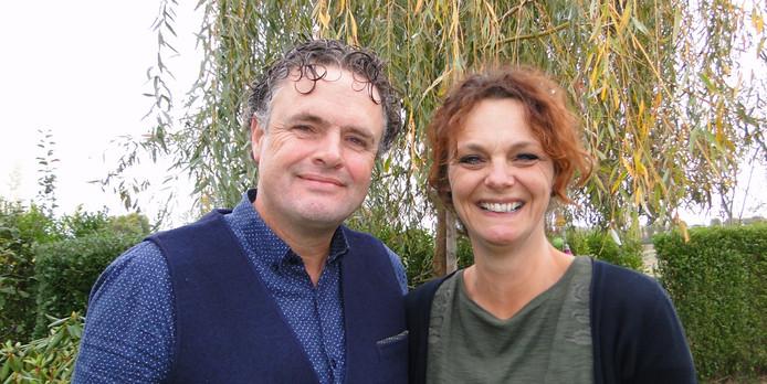 Johan en Melanie Swart gaan Het Gastenhuis in Goes leiden. ,,We zijn heel enthousiast om iets moois te gaan opzetten.''
