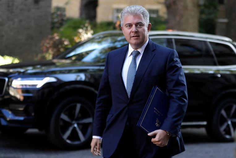 Brandon Lewis, minister van Noord-Ierse zaken. Beeld AP