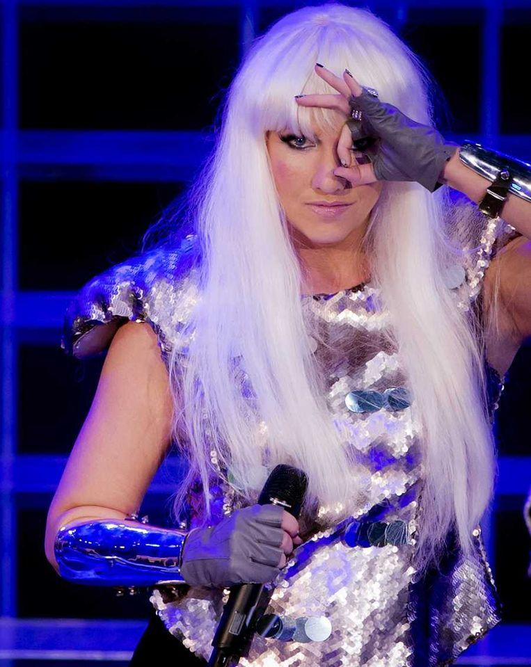 Nance als Lady Gaga, Beeld anp