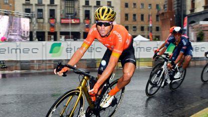 Greg Van Avermaet derde in kletsnatte Gran Trittico Lombardo, zege is voor Gorka Izagirre