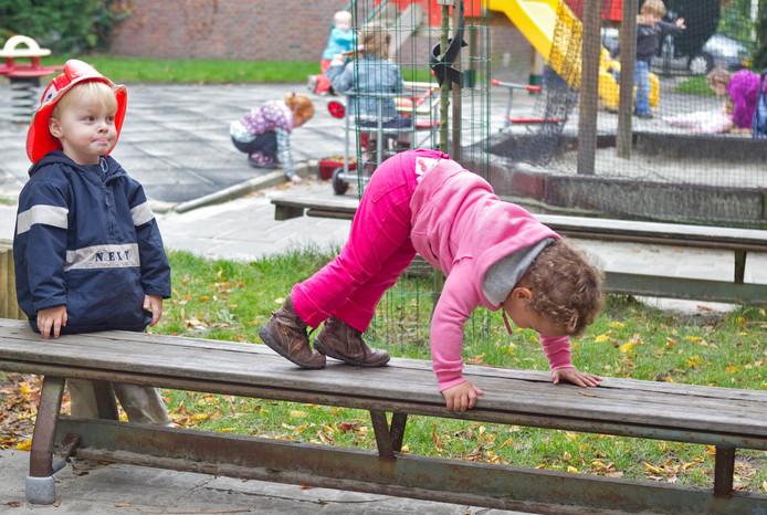 Een kinderdagverblijf in Haarlem, foto ter illustratie