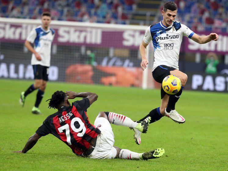 AC Milan krijgt gevoelige tik in titelstrijd van Atalanta