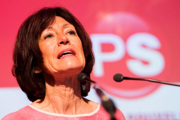 Brussels PS-voorzitter Laurette Onkelinx.