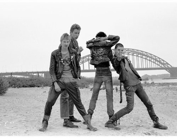 Punkband The Squats. Eigen foto