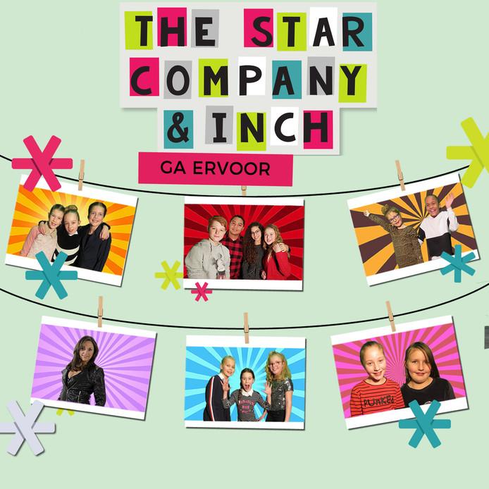 The Star Company en Inge van den Biggelaar (Inch) hebben een nieuwe single uit gebracht.