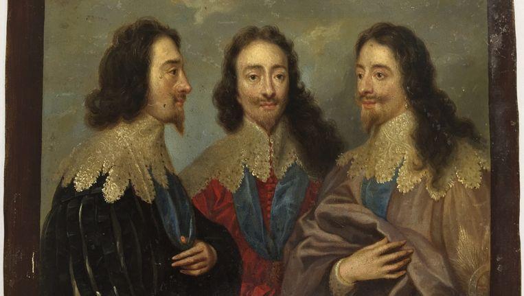 Schilderij van the Monuments Men, waarschijnlijk van de school van Anthony van Dijck. Beeld ap