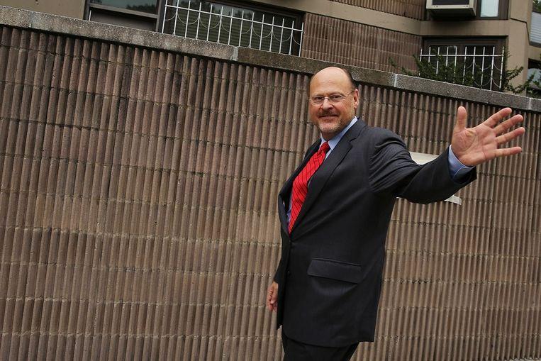 Republikeinse burgemeesterskandidaat Joe Lhota Beeld ANP