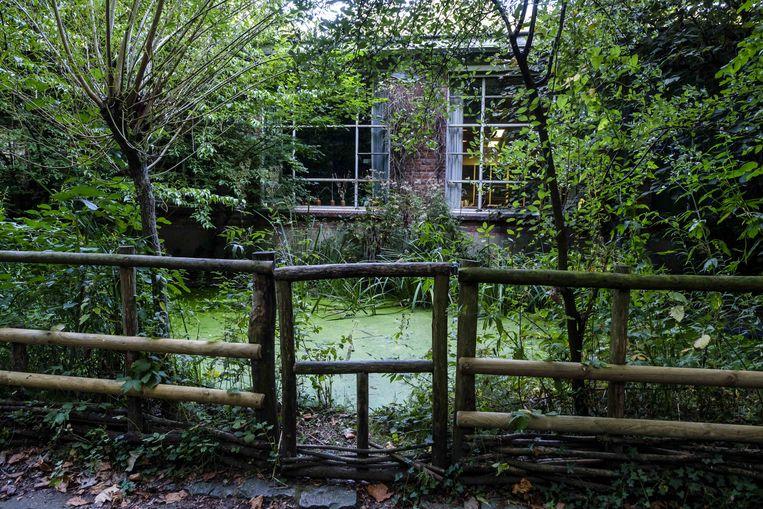 De oude aftandse bioklas werd vorig jaar vervangen.