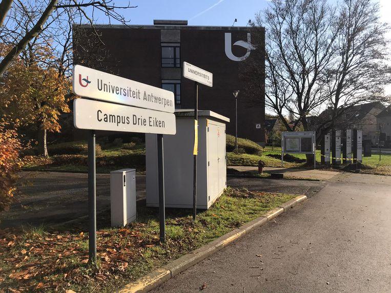 UA Drie eiken universiteit Antwerpen