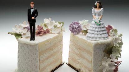 Aantal echtscheidingen in België daalt