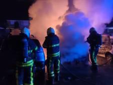 Zes auto's zwaar beschadigd door brand in Etten-Leur