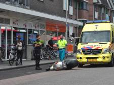 Man raakt gewond aan hoofd na val van scooter in Waalwijk