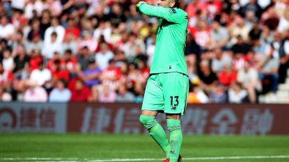 Liverpool wint moeizaam van Southampton, doelman Adrián gaat stevig de mist in