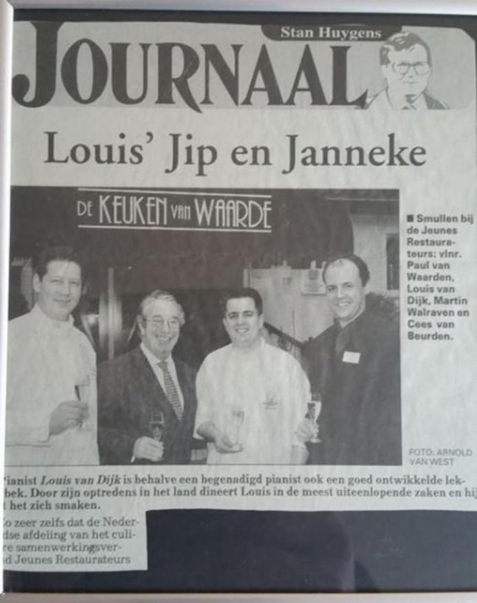 Paul van Waarden en Cees van Beurden in betere tijden.