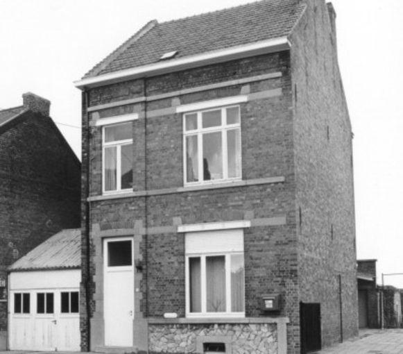 Het gemeentehuis van Bunsbeek in vroegere tijden.