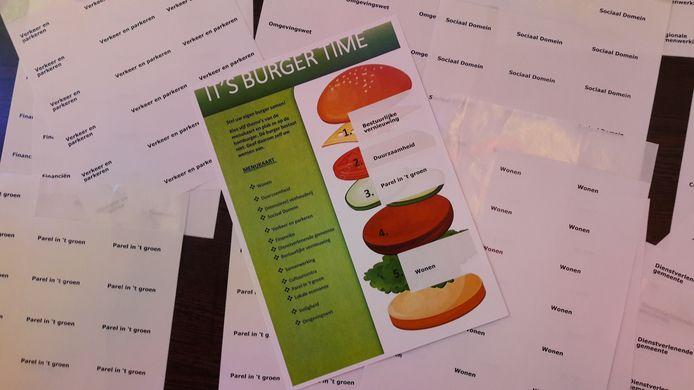 'Burgers' staan wat politiek Oisterwijk betreft voortaan enkel nog voor 'hamburgers'.