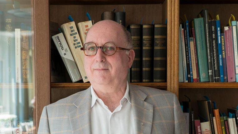 Michel Waterman, oud-directeur van Joods Educatief Centrum Crescas. Beeld Charlotte Odijk