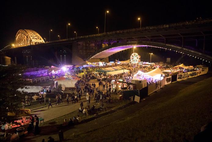 De Kaaij tijdens de Vierdaagsefeesten.