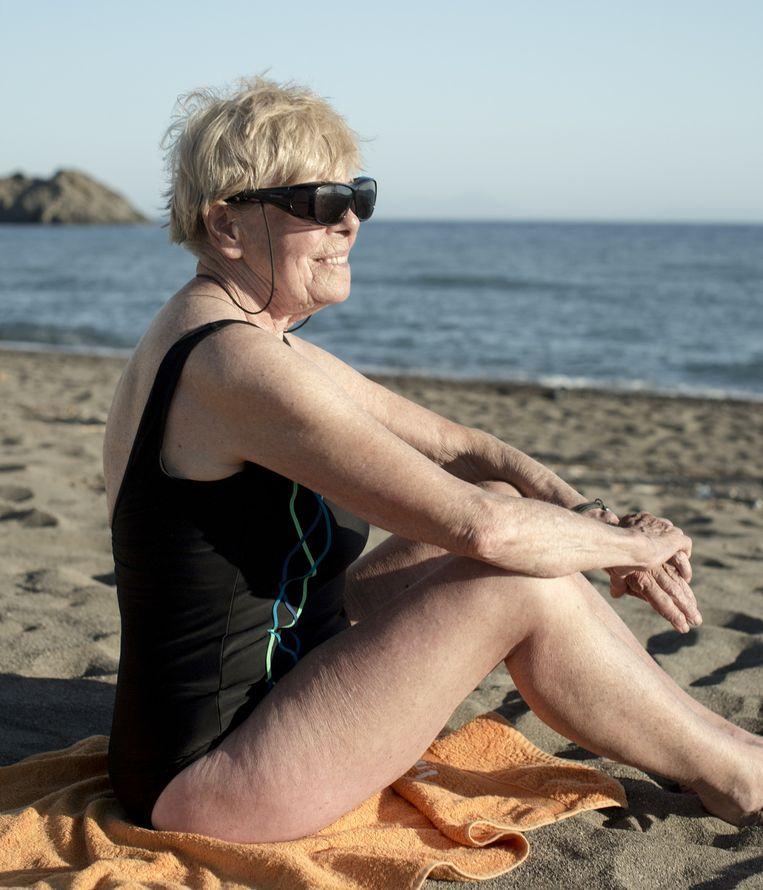 Leny Wiggers (82). Beeld Tara Fallaux