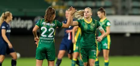 Even geen knuffel meer bij ADO Den Haag Vrouwen: 'We spelen alsof het de laatste wedstrijd is'