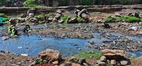 Le nettoyage des rivières de Nairobi dévoile l'horreur