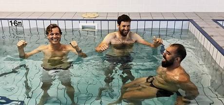 Berdych viert zege met ijskoud bad