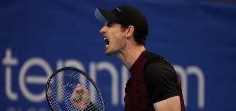 Andy Murray s'offre le premier titre de sa saison à Anvers