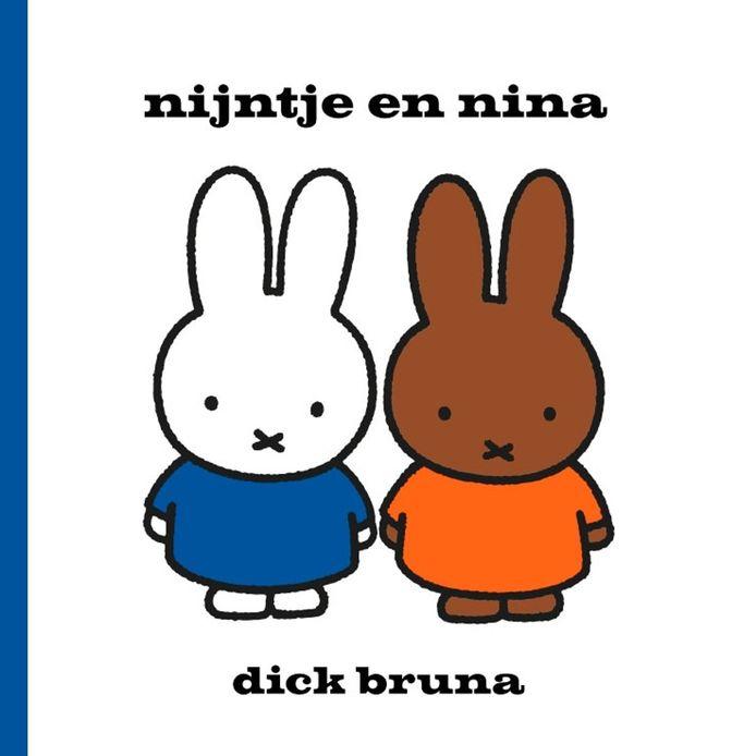 De cover van het boek nijntje en nina, dat als eerste zal overgaan van de huidige locatie van de Centrale Bibliotheek naar de nieuwe locatie.