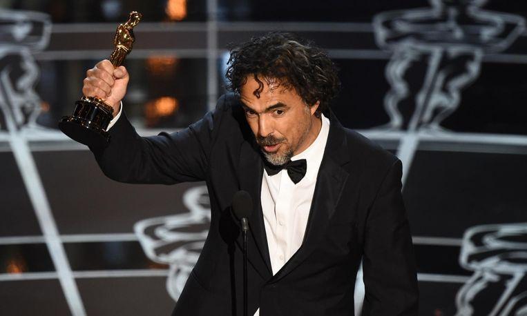 Birdman-regisseur Alejandro González Iñárritu Beeld AFP