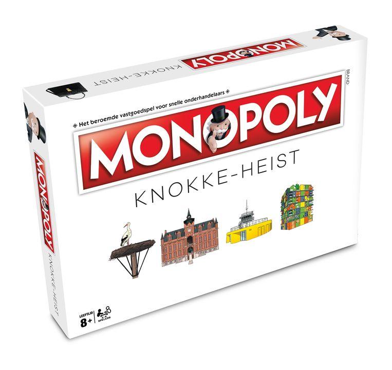 De doos van Monopoly Knokke-Heist