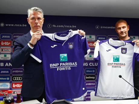 Le Sporting d'Anderlecht présente ses nouveaux maillots