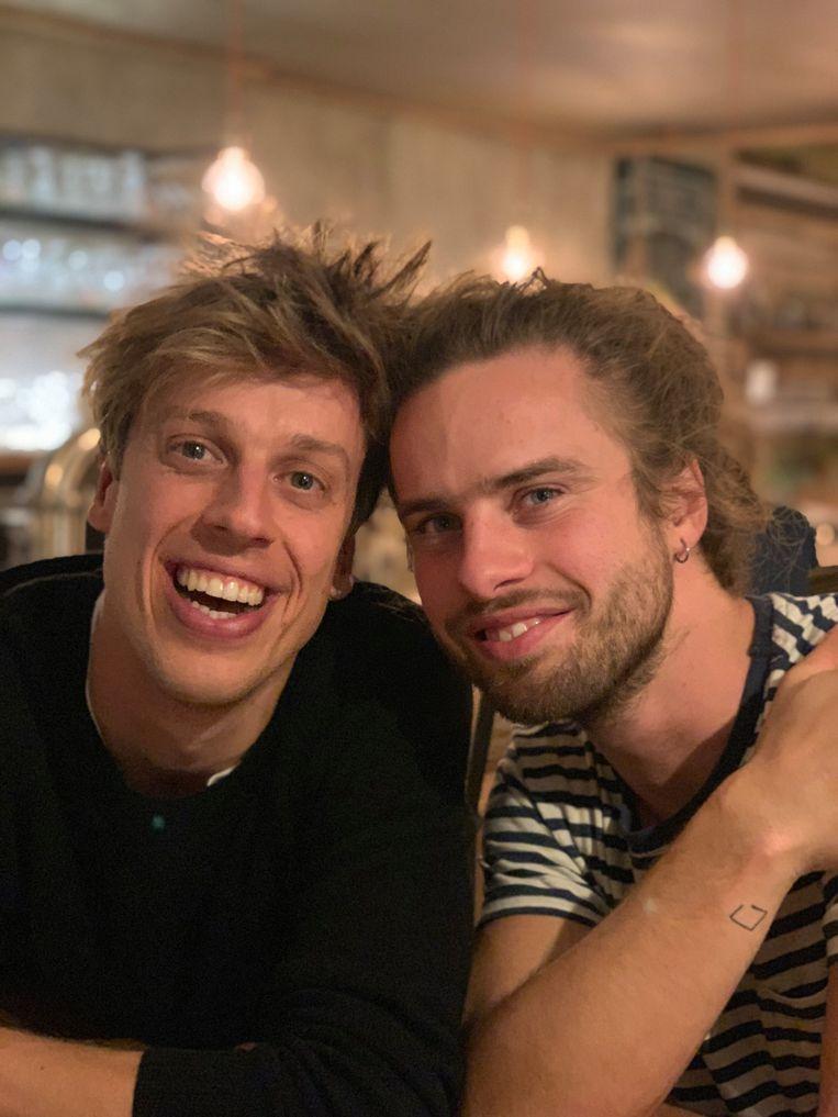 Jonas Mallisse en Jeff Cornelis, het duo achter het succesvolle 'Too Good To Go'