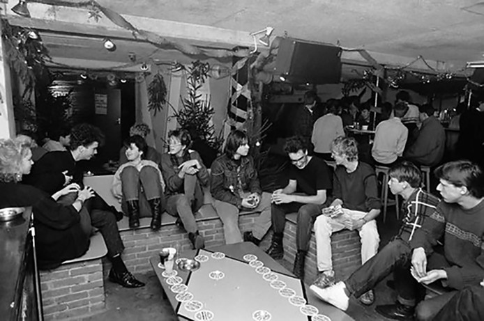Archieffoto voor reünie van Roosendaalse jongerensociëteit 't Kros