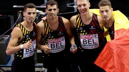 GOUD! Belgian Tornados Europees kampioen indoor na duel met Spanje - Eykens vierde op 800m - Cheetahs vijfde in hun finale