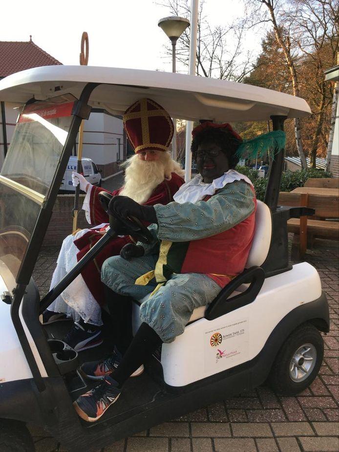 De Sint vorig jaar in Hellendoorn.