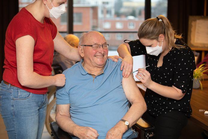 Vaccinaties in wzc Sint-Jozef in Pelt