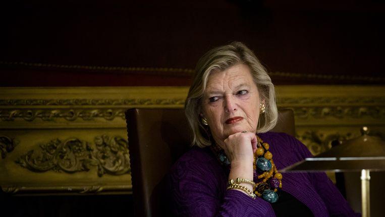 Eerste Kamervoorzitter Ankie Broekers-Knol (VVD) Beeld anp