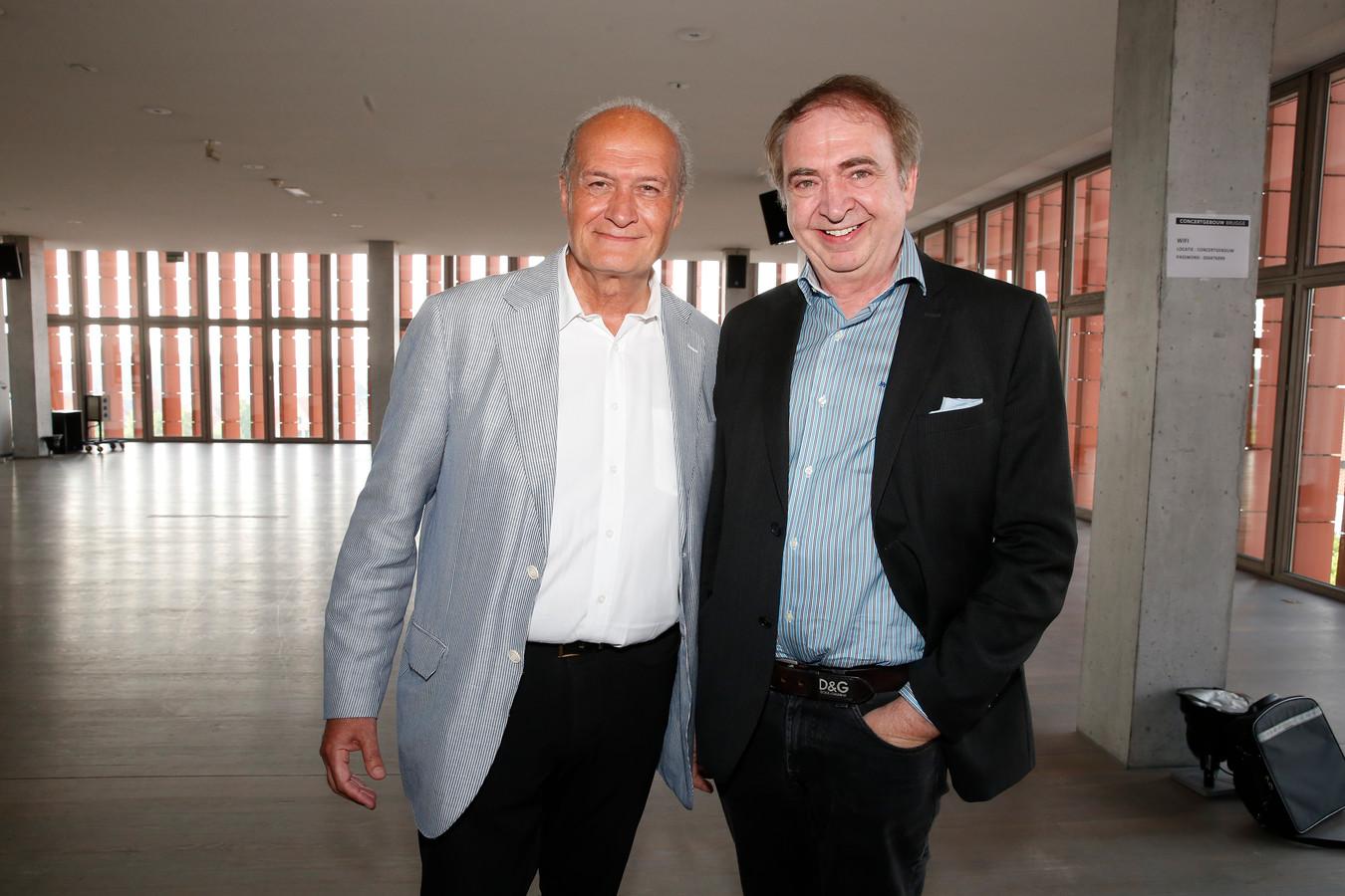 Jacques Vermeire en Luc Verschueren