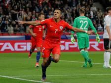 Chili en Duitsland na gelijkspel bijna zeker van halve finales