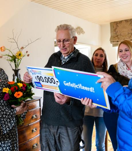 Cora (66) uit Vianen wint 90.000 euro bij de VriendenLoterij