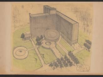 Middelheimziekenhuis viert 50-jarig bestaan: unieke tekeningen van architect Renaat Braem in openluchtexpo