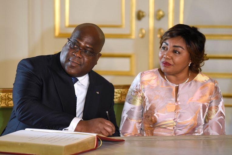 De Congolese president Félix Tshisekedi bezocht vandaag de Antwerpse diamantwijk en tekende daar ook een samenwerkingsovereenkomst.