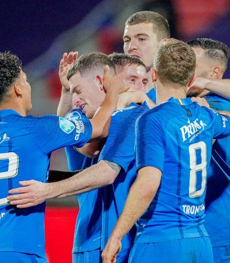 Vitesse bij laatste zestien KNVB-beker na eenvoudige zege in Tilburg