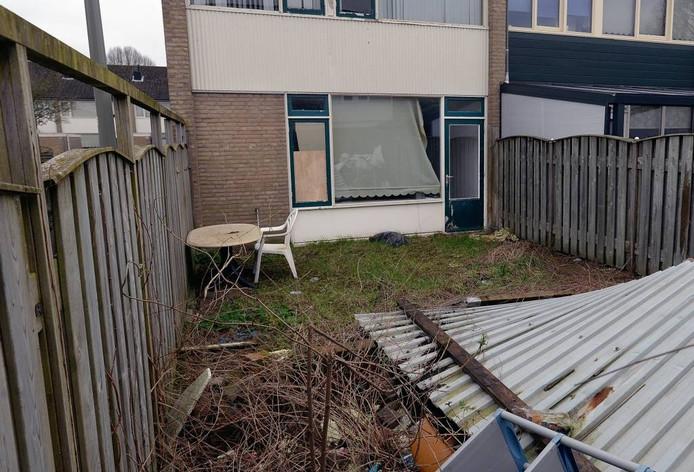 Het huis aan de Potgieterstraat voordat de gemeente Oss het onder handen neemt.