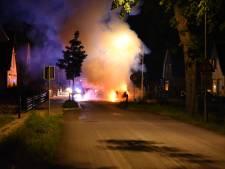 Camper brandt uit in Kilder
