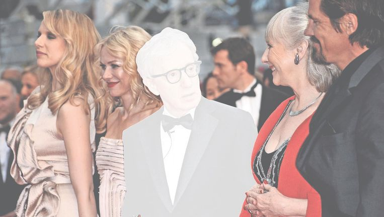 Woody Allen, première van You Will Meet a Tall Dark Stranger, 2010. Beeld getty