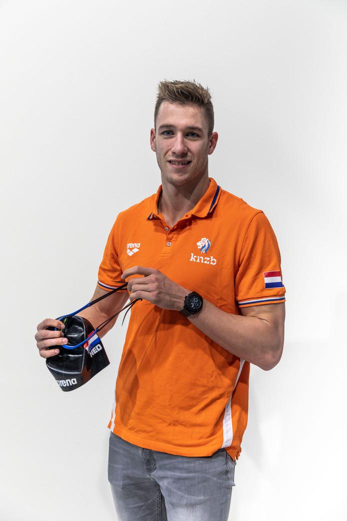 Zwemmer Stan Pijnenburg, olympische rubriek.