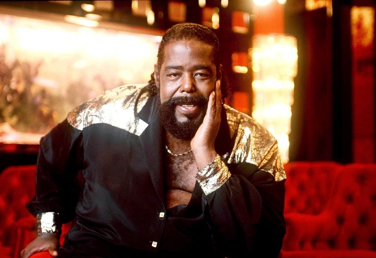 Barry White in 1987.