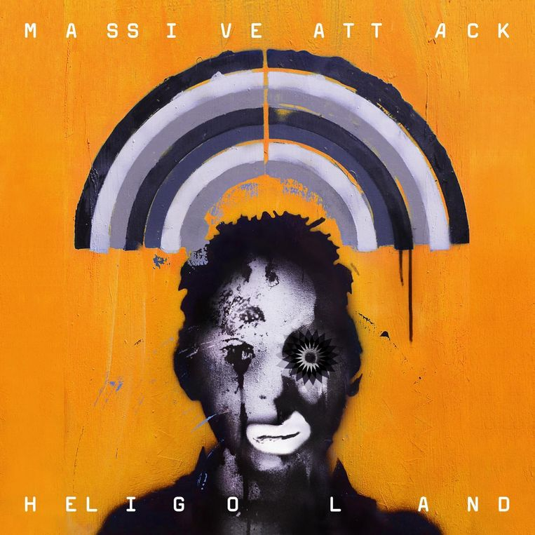 Het album Heligoland van Massive Attack uit 2010. Beeld